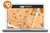 Request a demo for mobi's dispatch software