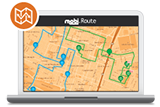 Request a demo for mobi's route planning software
