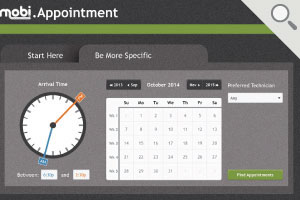 Service Scheduling Software Screenshot: Scheduling Suggestions